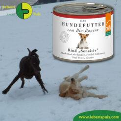 Defu Felderzeugnisse Bio Hundefutter Nassfutter Rind Sensitiv
