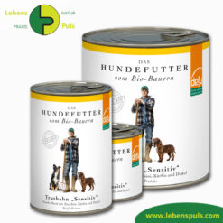 Defu Felderzeugnisse Bio Hundefutter Nassfutter Truthahn Sensitiv 1