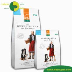 Defu Felderzeugnisse Bio Hundefutter Trockenfutter Junior Gefluegel 1