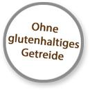 Sticker ohne glutenhaltiges Getreide