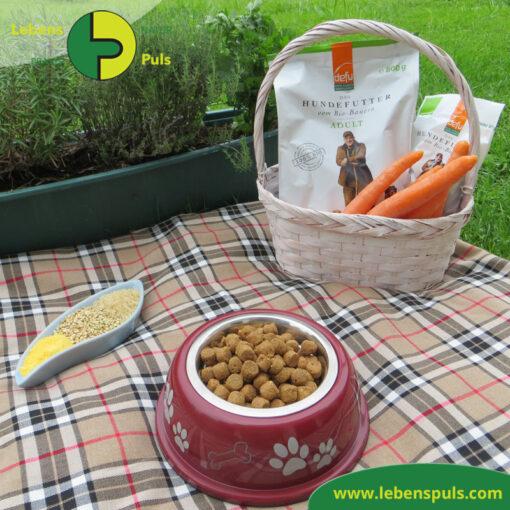 Defu Felderzeugnisse Bio Hundefutter Trockenfutter Adult Gefluegel Picknick