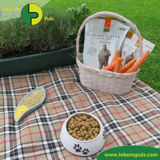 Defu Felderzeugnisse Bio Hundefutter Trockenfutter Senior Gefluegel Picknick