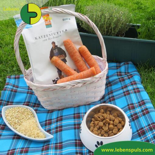 Defu Felderzeugnisse Bio Katzenfutter Trockenfutter Seefisch Picknick