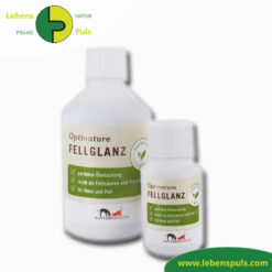 Futtermittelergaenzung Futtermedicus Optinature Fellglanz 100ml und 500ml