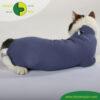 VetMedCare Tierbedarf Cat Body Ruecken indigoblue